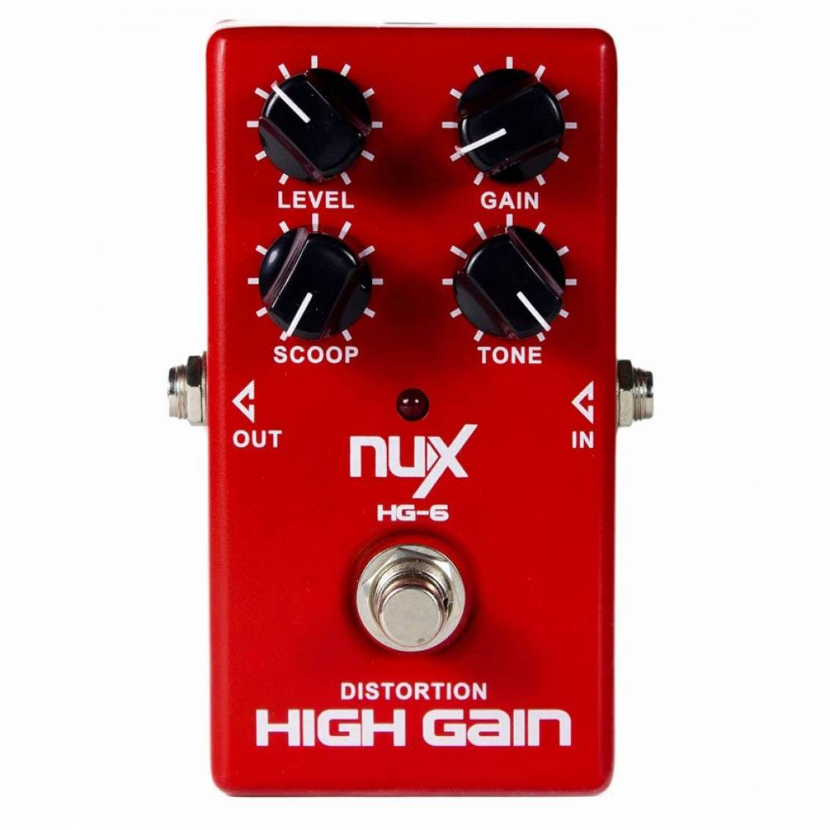 Pedal de Guitarra Nux HG-6 High Gain Distortion