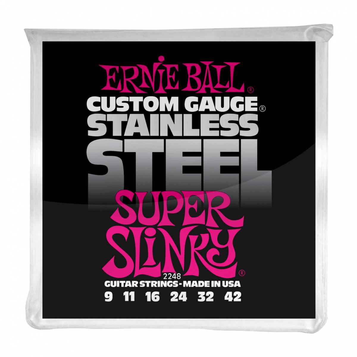 Corda de Guitarra Encordoamento Ernie Ball 2248 Custom Gauge .09
