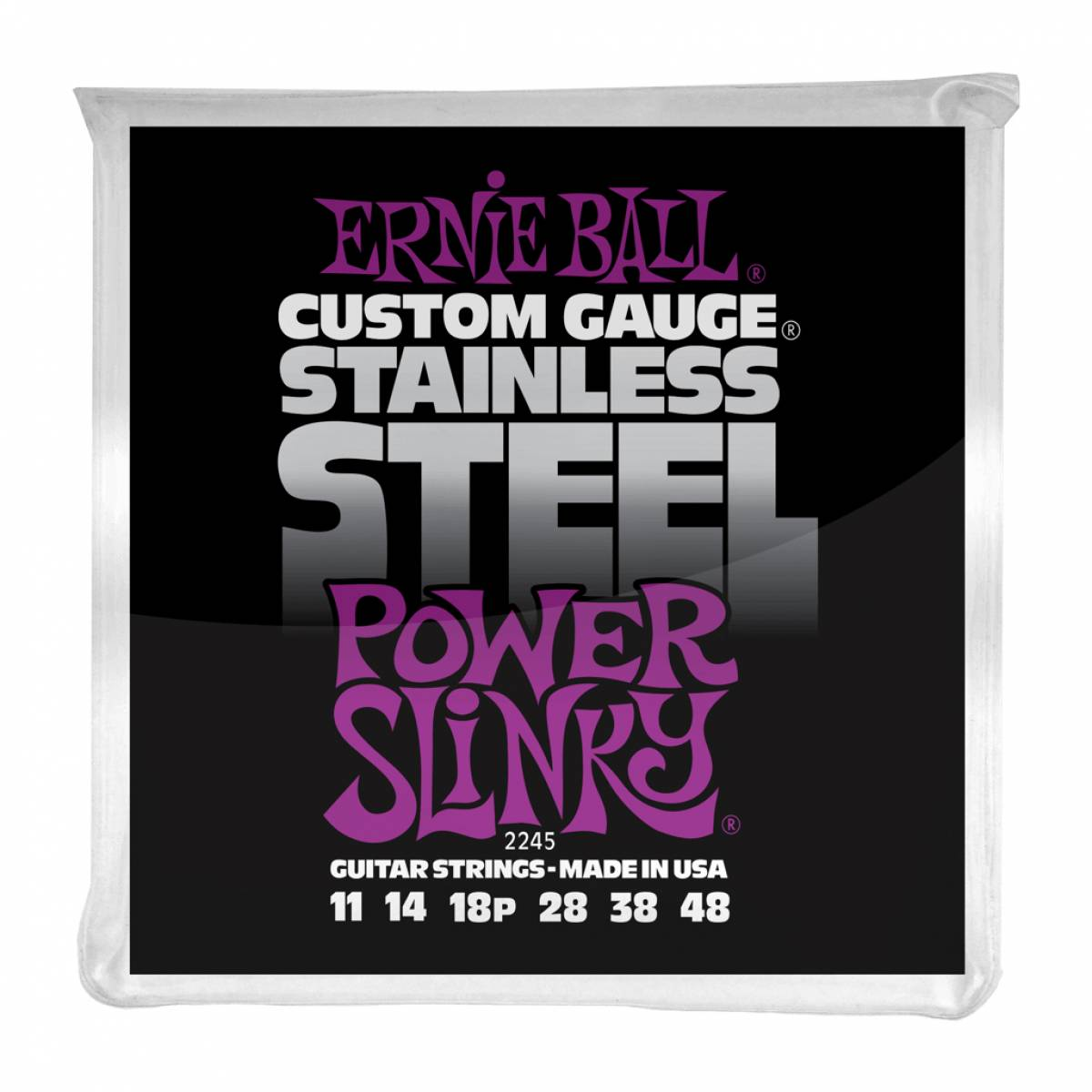 Encordoamento Guitarra Ernie Ball 2245 Stainless Steel .011