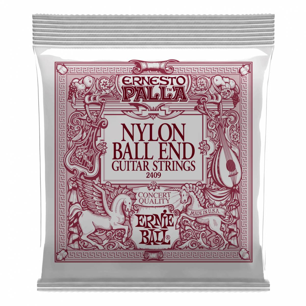 Corda para Violão Encordoamento Ernie Ball 2409 Ball End Nylon