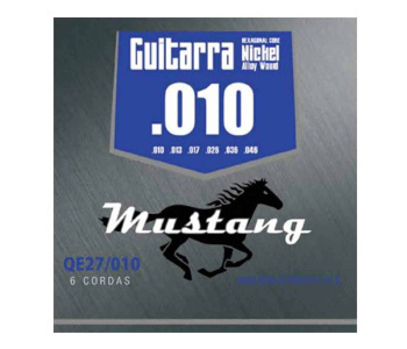 Encordoamento Guitarra Mustang QE27/010