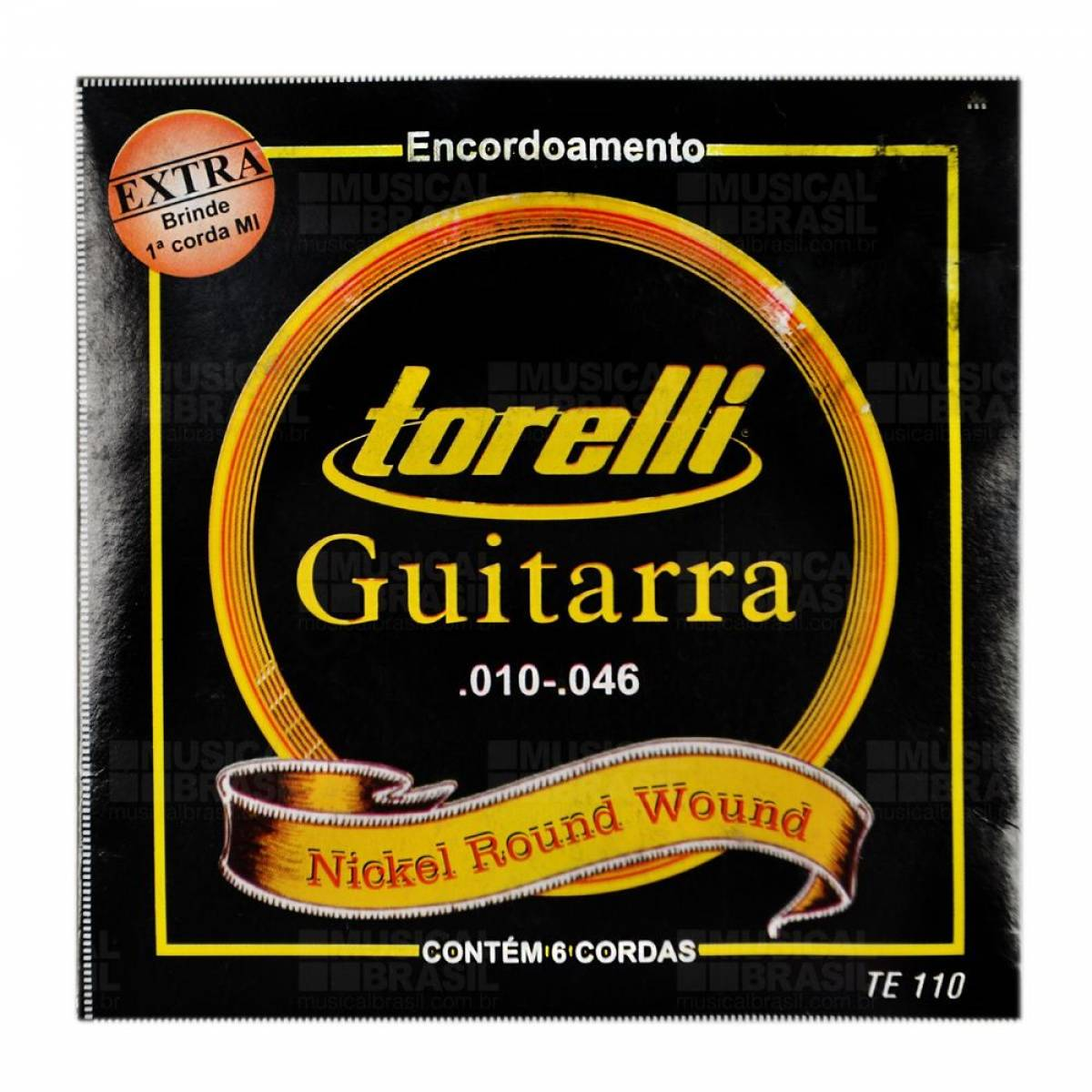 Encordoamento Guitarra Torelli TE 110 .010