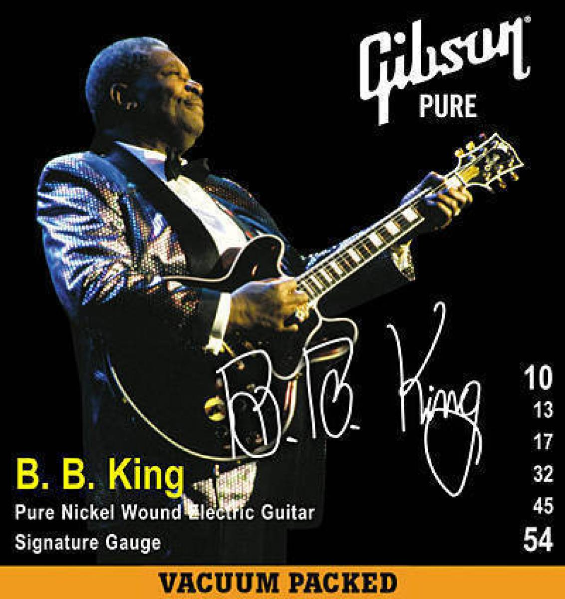 Encordoamento Guitarra Gibson Gear B B King 010