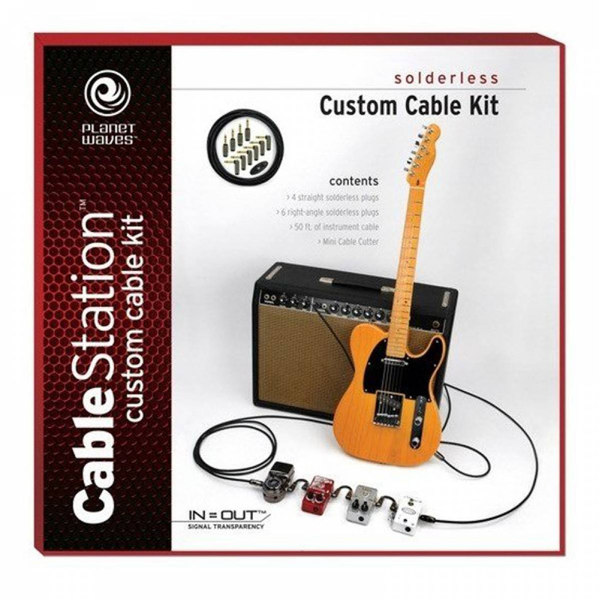 Kit Cabo para Guitarra Custom Planet Waves PW-GPKIT-50