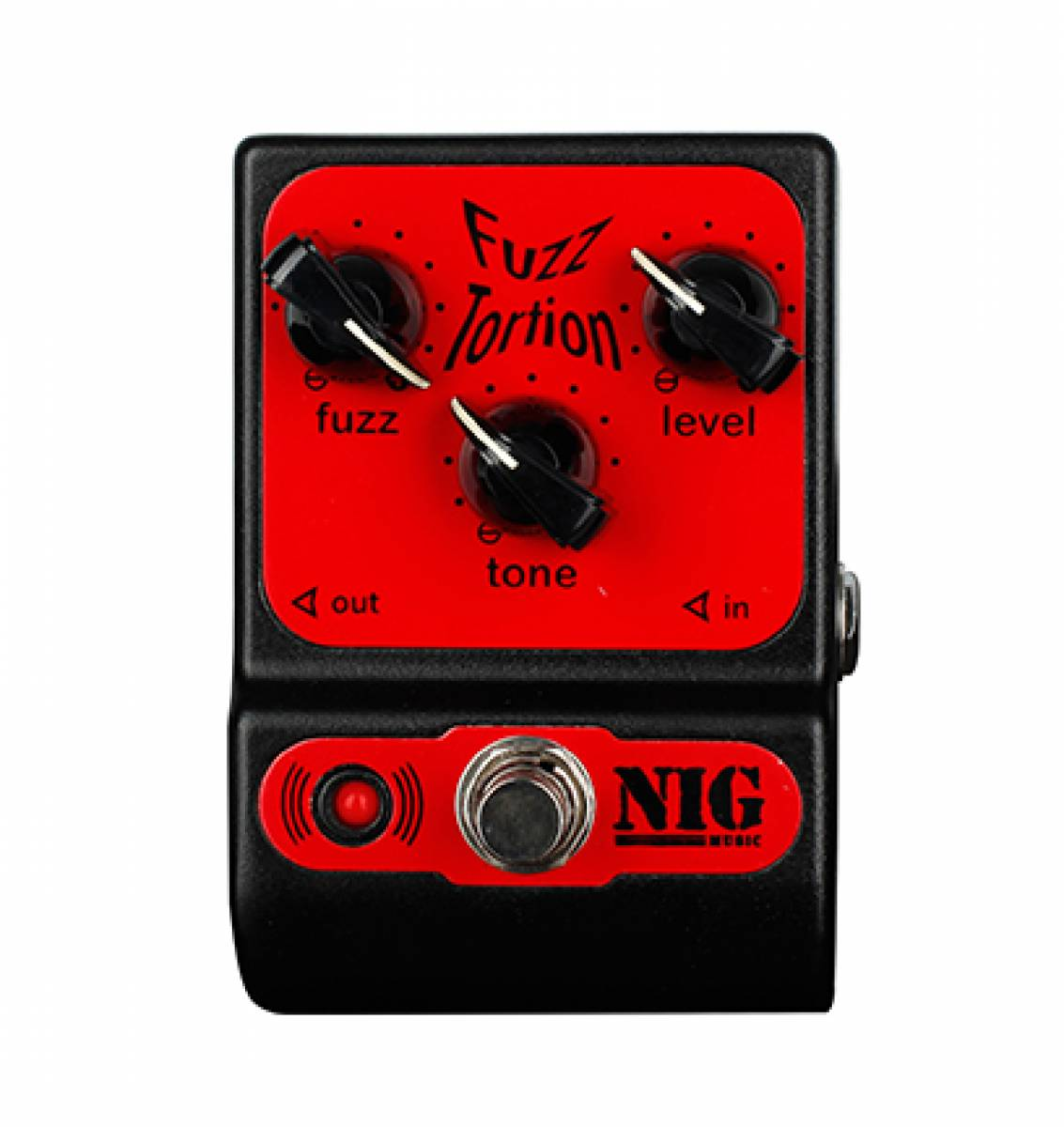 Pedal Fuzz Tortion Nig PFT